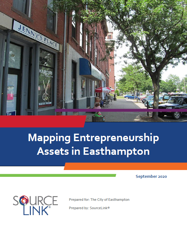 Mapping Entrepreneurship Resources in Easthampton SourceLink Report